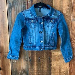 Girls DKNY Jean jacket.